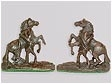 Bronze Pair of Marli Horses